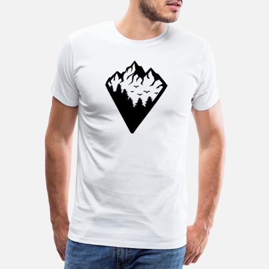 Natur Urlaub Berge Ski Mountains are calling Damen T-Shirt V-Ausschnitt