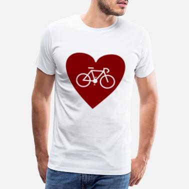 Single Speed Ciclismo Love Cool Idea regalo Bicicletta in bicicletta - Maglietta Premium da uomo