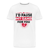 gra Premium koszulka męska   Spreadshirt  kpD6a