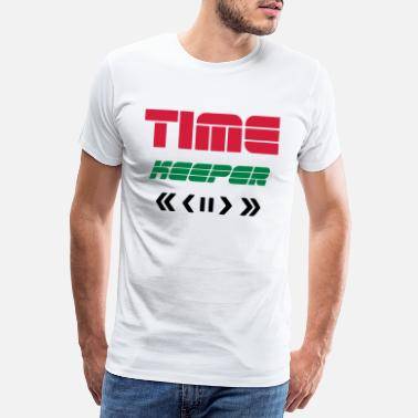 Remote TIME KEEPER - TIME TRAVELER REMOTE - TIME TRAVEL - Premium T-shirt mænd