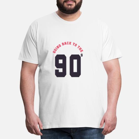 fcf158d40 Tilbake til 90-tallet Premium T-skjorte for menn | Spreadshirt