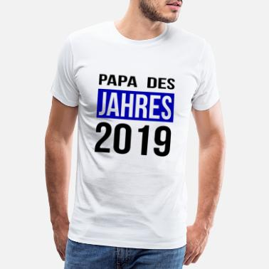 Best Husband In The World Daddy of the Year 2019 World's Best Dad Superdad - Men's Premium T-Shirt