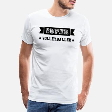Volleyball Athlet Volleyball / Volleyballspieler / Volleyballer - Männer Premium T-Shirt