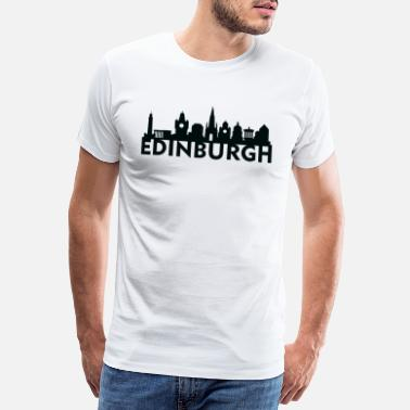 Edinburgh Edinburgh Scotland UK Skyline Gift Idea - Men's Premium T-Shirt
