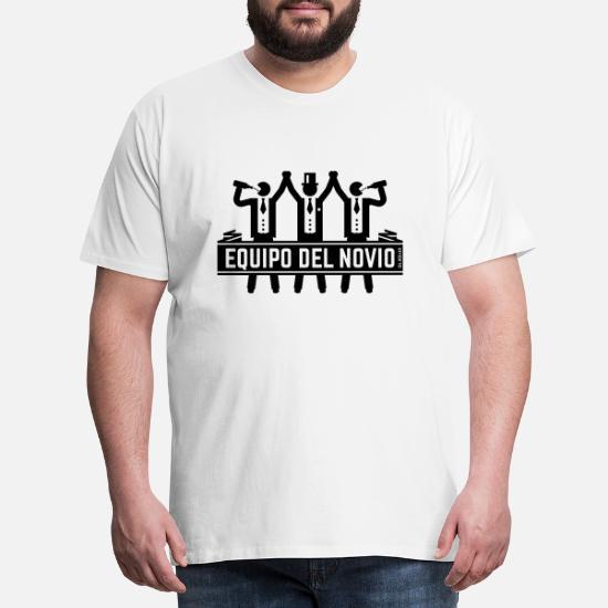 Equipo Del Novio Despedida De Soltero Solteros Camiseta