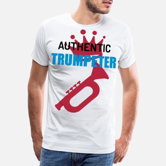 Musik Premium T skjorte for menn | Spreadshirt