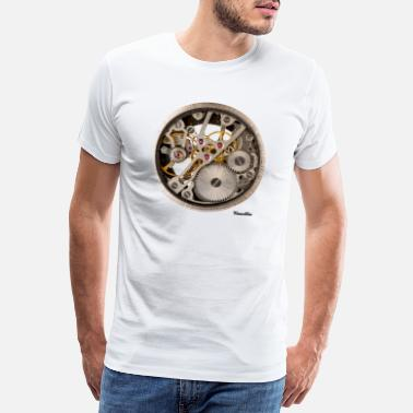 Clock Clock / dial - Men's Premium T-Shirt