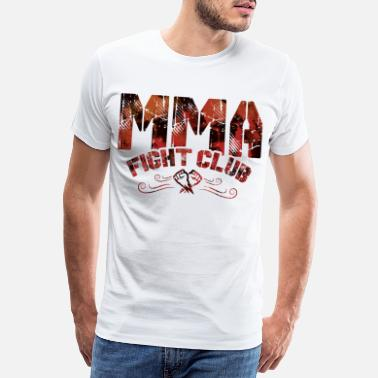 Cage Fighter mma fight club fist - Men's Premium T-Shirt