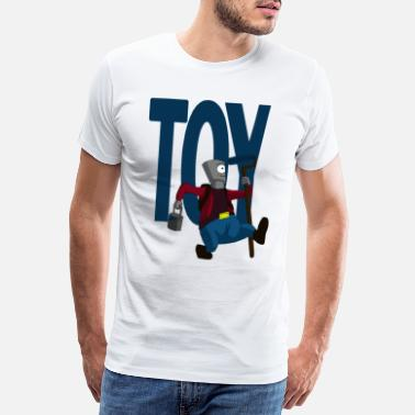 Boys Graffiti Toy Boy - Men's Premium T-Shirt