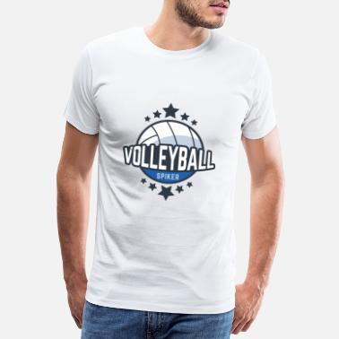 Manschaft Volleyballl Sport Team Manschaft Tunier Training - Men's Premium T-Shirt
