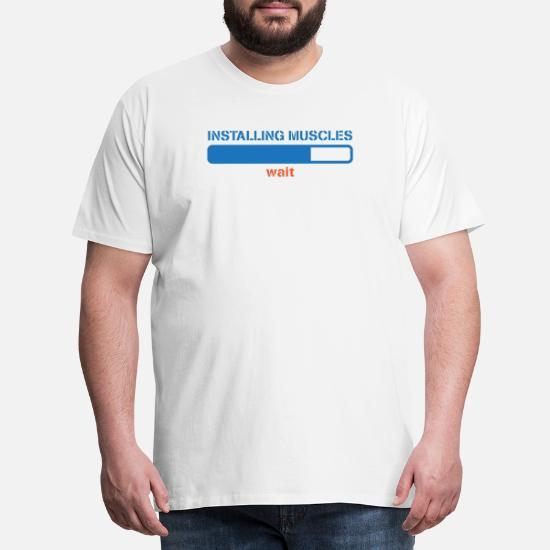 Femmes Drôle Gym T shirt