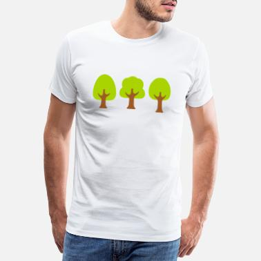 Deciduous Tree Deciduous trees - Men's Premium T-Shirt