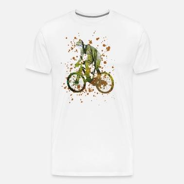 184a54bf67caf2 Rower - Uwielbiam jazdę na rowerze - rower Premium koszulka męska ...