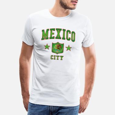 Mellom-amerika Mexico City - Premium T-skjorte for menn