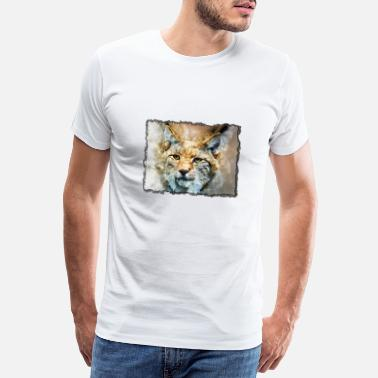 Tiger in the frame - Men's Premium T-Shirt