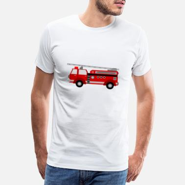 Fire Fire truck - Men's Premium T-Shirt
