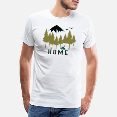 Outdoors Camping Outdoors Home - Men's Premium T-Shirt