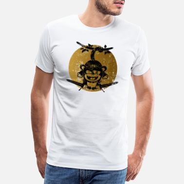 Little Creatures Pirate monkey - Men's Premium T-Shirt