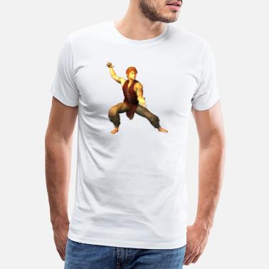 Artist MARTIAL ARTS TRAINING FIGURE 39 - Men's Premium T-Shirt
