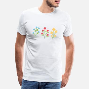 Forest Environmental protection gift environment flowers - Men's Premium T-Shirt
