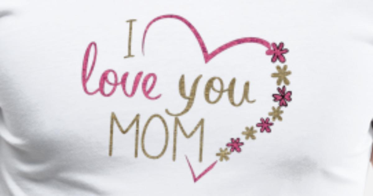 I Love You Mom Mannen Premium T Shirt Spreadshirt
