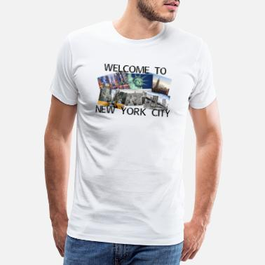Yankee New York City - Männer Premium T-Shirt