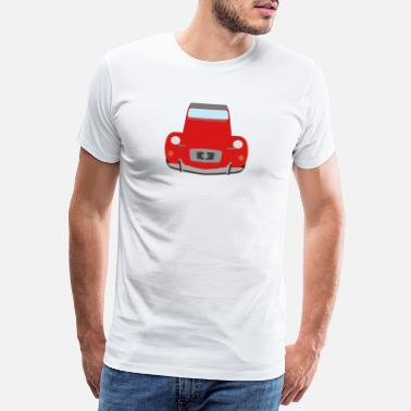 2cv 2cv red - Men's Premium T-Shirt