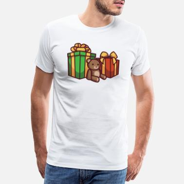Bow Box Christmas Gifts - Men's Premium T-Shirt