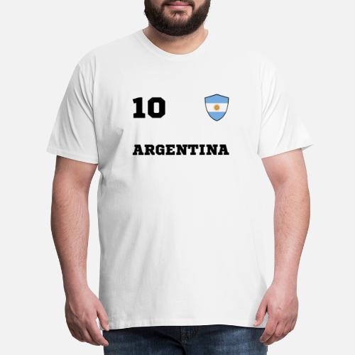 38faaa45e Zespół drużyn ARGENTYNY Premium koszulka męska | Spreadshirt