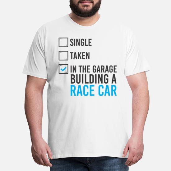 Bil garage workshop fødselsdagsgave Premium T shirt mænd