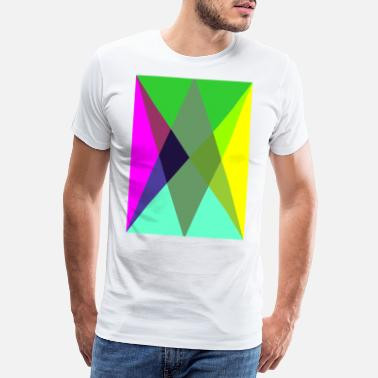 Pointy pointy corners - Men's Premium T-Shirt