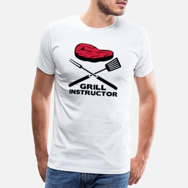 Instructor De Barbacoa INSTRUCTOR DE BARBACOA - Camiseta premium hombre