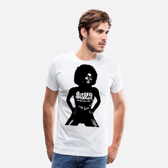 Big Band T-shirts - Big Woman - T-shirt premium Homme blanc