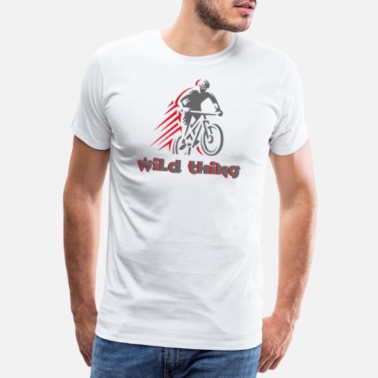 018e710ac Mtb Koszulki - Wild Thing - nie tylko dla rowerzystów MTB. - Premium  koszulka męska