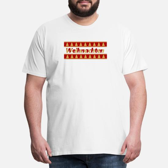 Tannenbaum Muster.Weihnachten Tannenbaum Muster Geschenk Tshirt Männer Premium T Shirt
