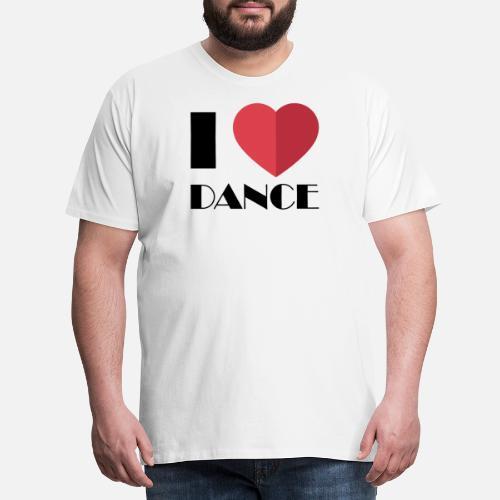 Diseño delante detrás detrás bailarines hombre para delante premium Camiseta 8wxaCFgYq