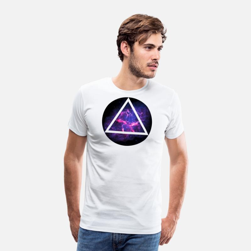 Cool T-Shirts - Deep Space - Men's Premium T-Shirt white