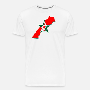 Maglietta Premium Marocco Maglietta Marocco UomoSpreadshirt UomoSpreadshirt Premium DE9HIW2