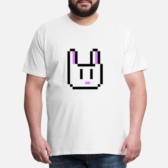 Bunny Pâques Cadeau Idée Pixel Pixelart Lapin T Shirt