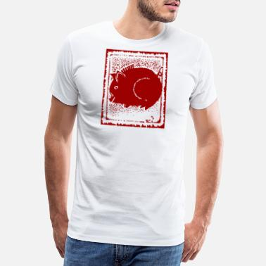 Chinese Zodiac Pig Abstract - Men's Premium T-Shirt