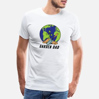Botanical Garden dad - Men's Premium T-Shirt