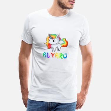 Alvaro Alvaro unicorn - Men's Premium T-Shirt