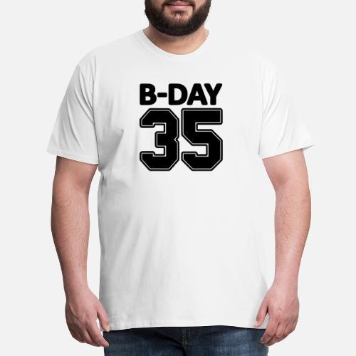 35 Número Número Número Número camisa camiseta de Bday Camiseta ... dbd8d912bdc01
