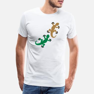 Two Two Geckos_FF - Men's Premium T-Shirt