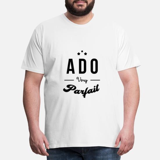 tenåring teenager teen barn Premium T skjorte for menn