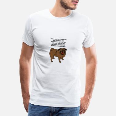 Paw Dog t-shirt - Gift - Men's Premium T-Shirt