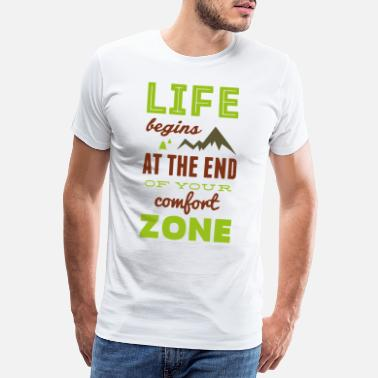 Life Begins At Life begins - Men's Premium T-Shirt
