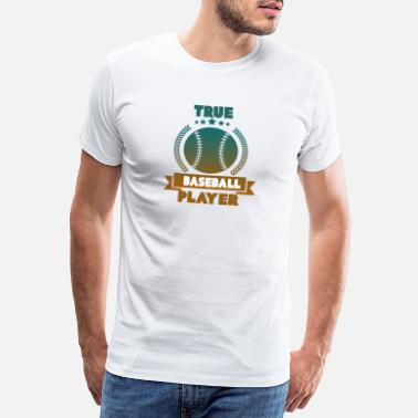 Wide Receiver Baseball Player - Männer Premium T-Shirt