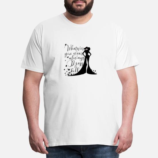 Kjole for å drepe Premium T skjorte for menn | Spreadshirt