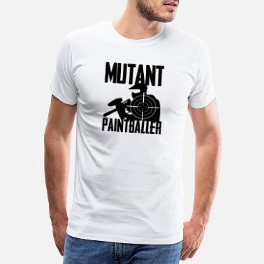 Mutant Paintball mutant paintballer design til paintball - Premium T-shirt mænd